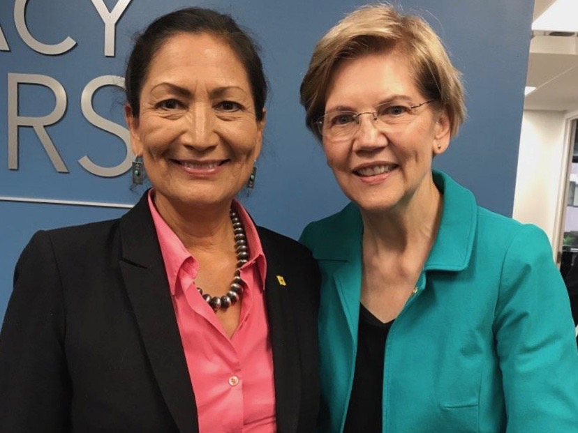 Deb Haaland stands by Sen. Elizabeth Warren amid DNA doubts