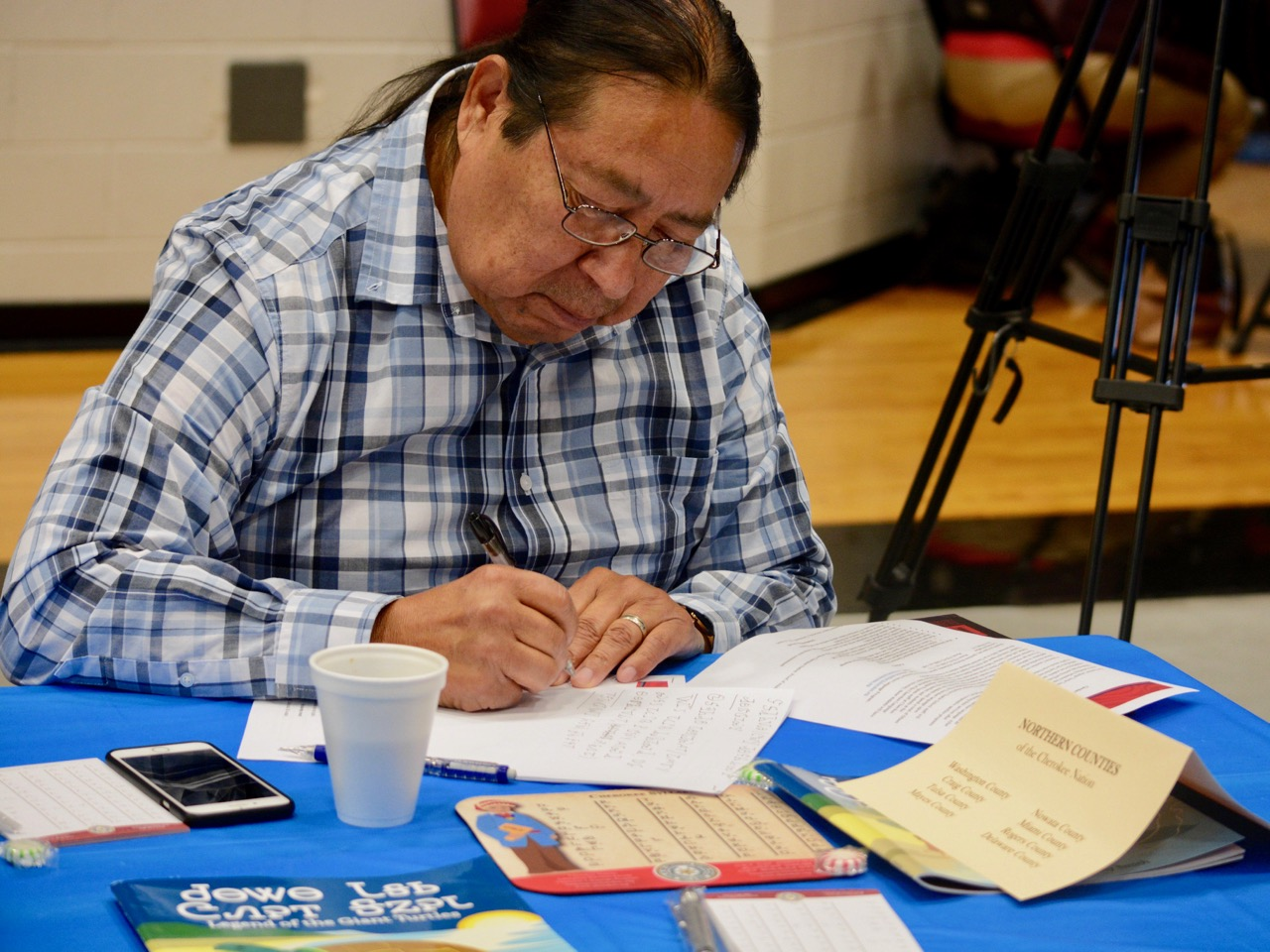 Bill John Baker: Saving our Cherokee language by identifying fluent speakers
