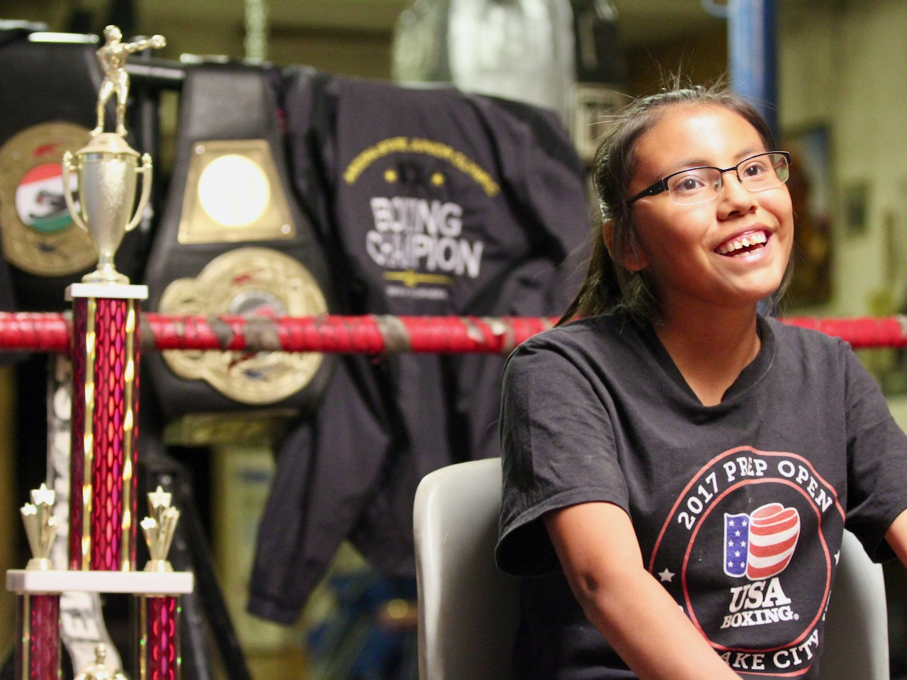 Cronkite News: Navajo girl carries on family's boxing tradition