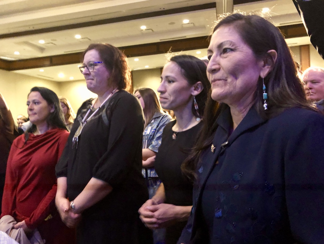 Recap: Indian Country celebrates Sharice Davids and Deb Haaland