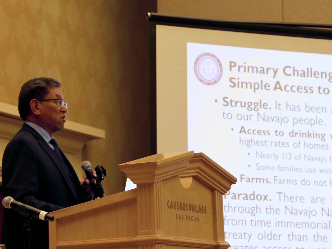 Navajo President: Government shutdown violates treaty obligations