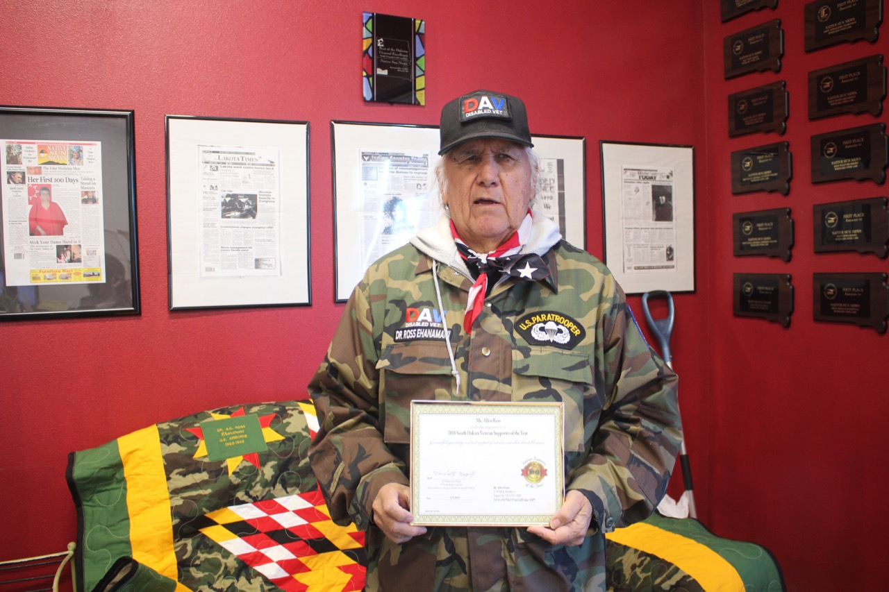Native Sun News Today: Flandreau Santee Sioux veteran lauded for efforts