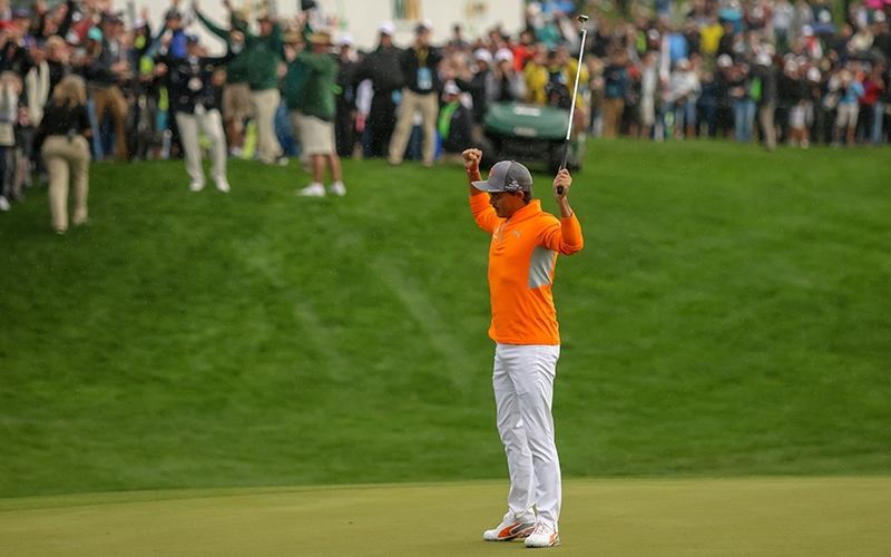 Cronkite News: Navajo golfer Rickie Fowler claims victory at tournament