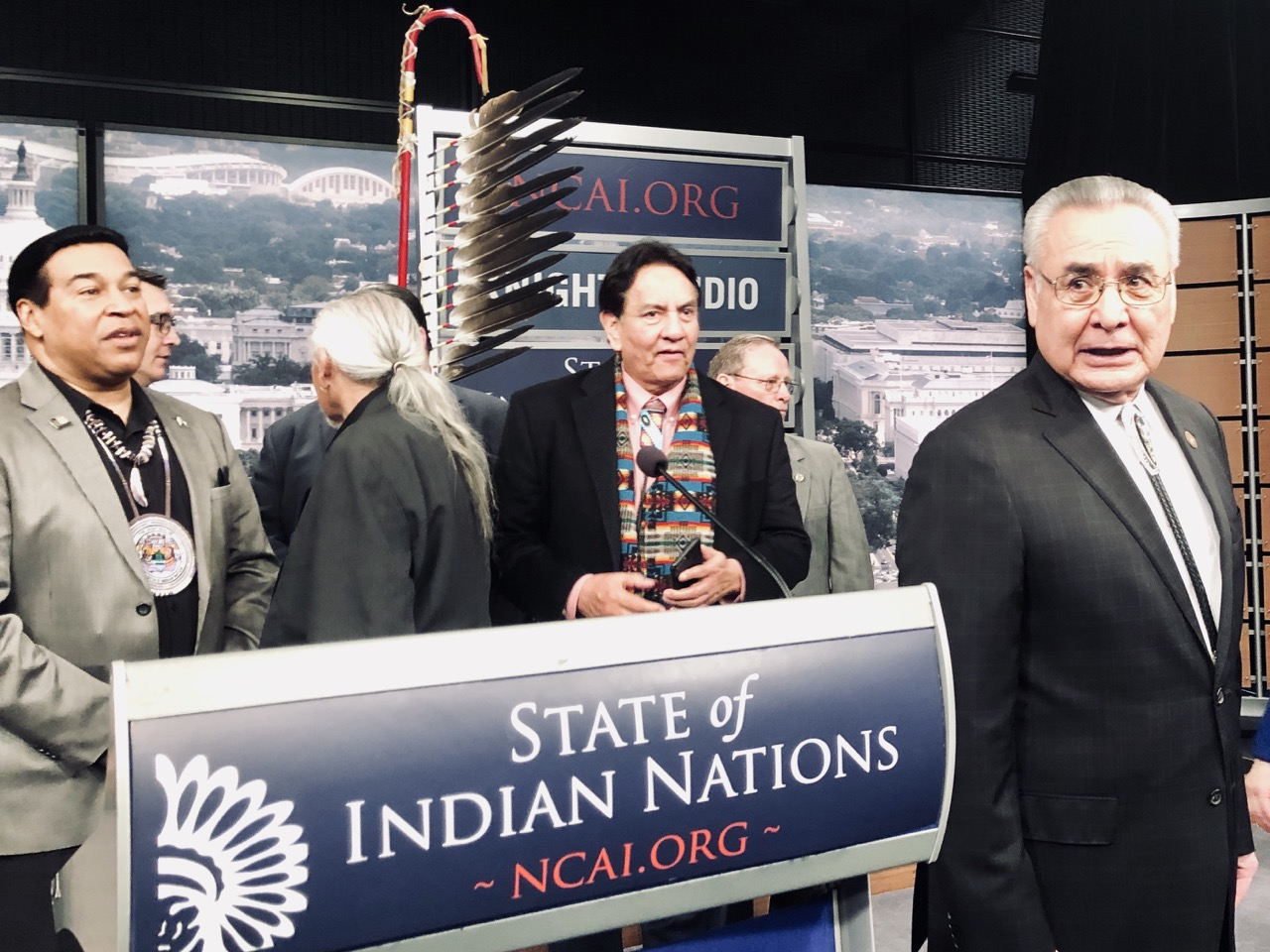 Native leaders deliver rebuke of Trump administration at State of Indian Nations