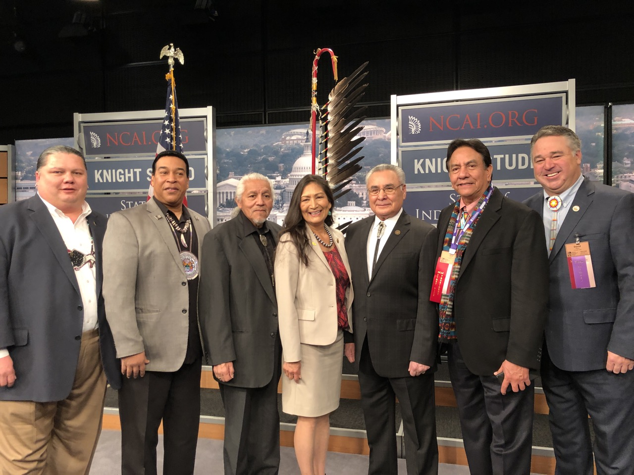 Rep. Deb Haaland chairs first hearing as leader of Congressional subcommittee
