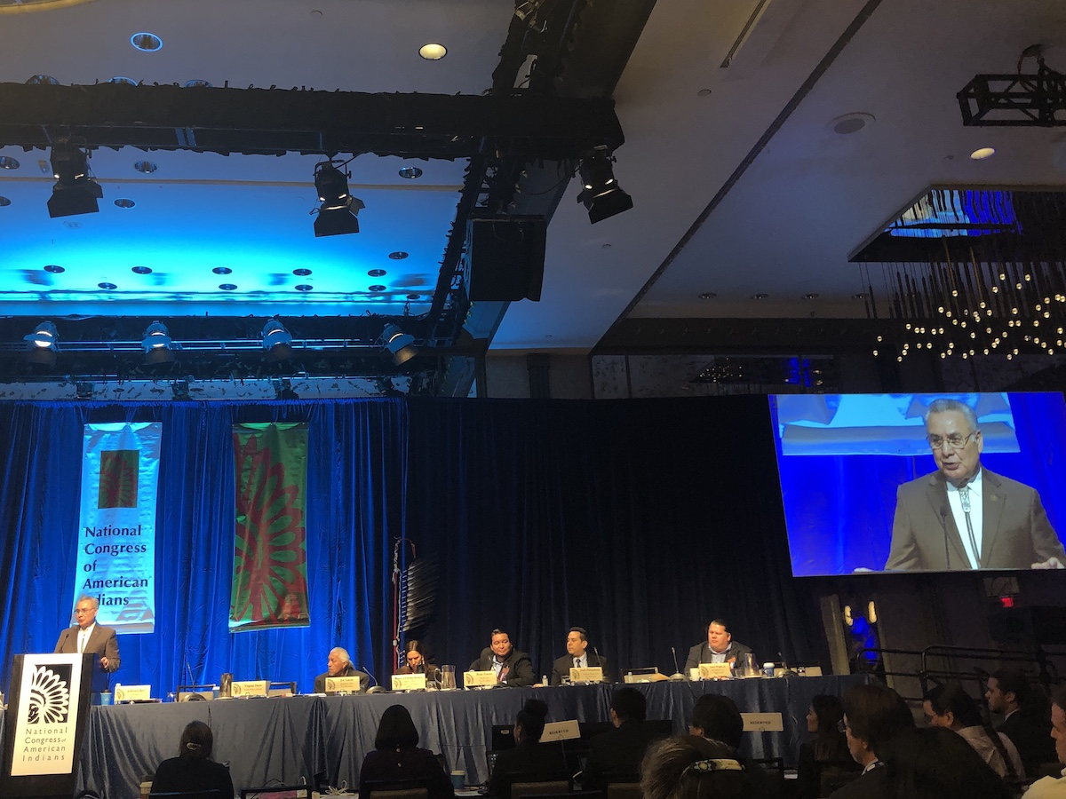 Twitter Recap: Day one of National Congress of American Indians winter session