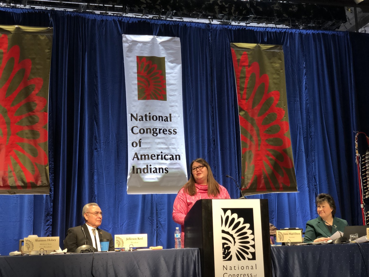 Twitter Recap: Day two of National Congress of American Indians winter session