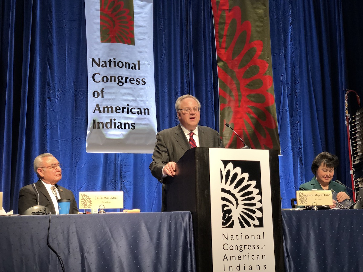 Non-Indian gaming company sues Trump administration over tribal agreements