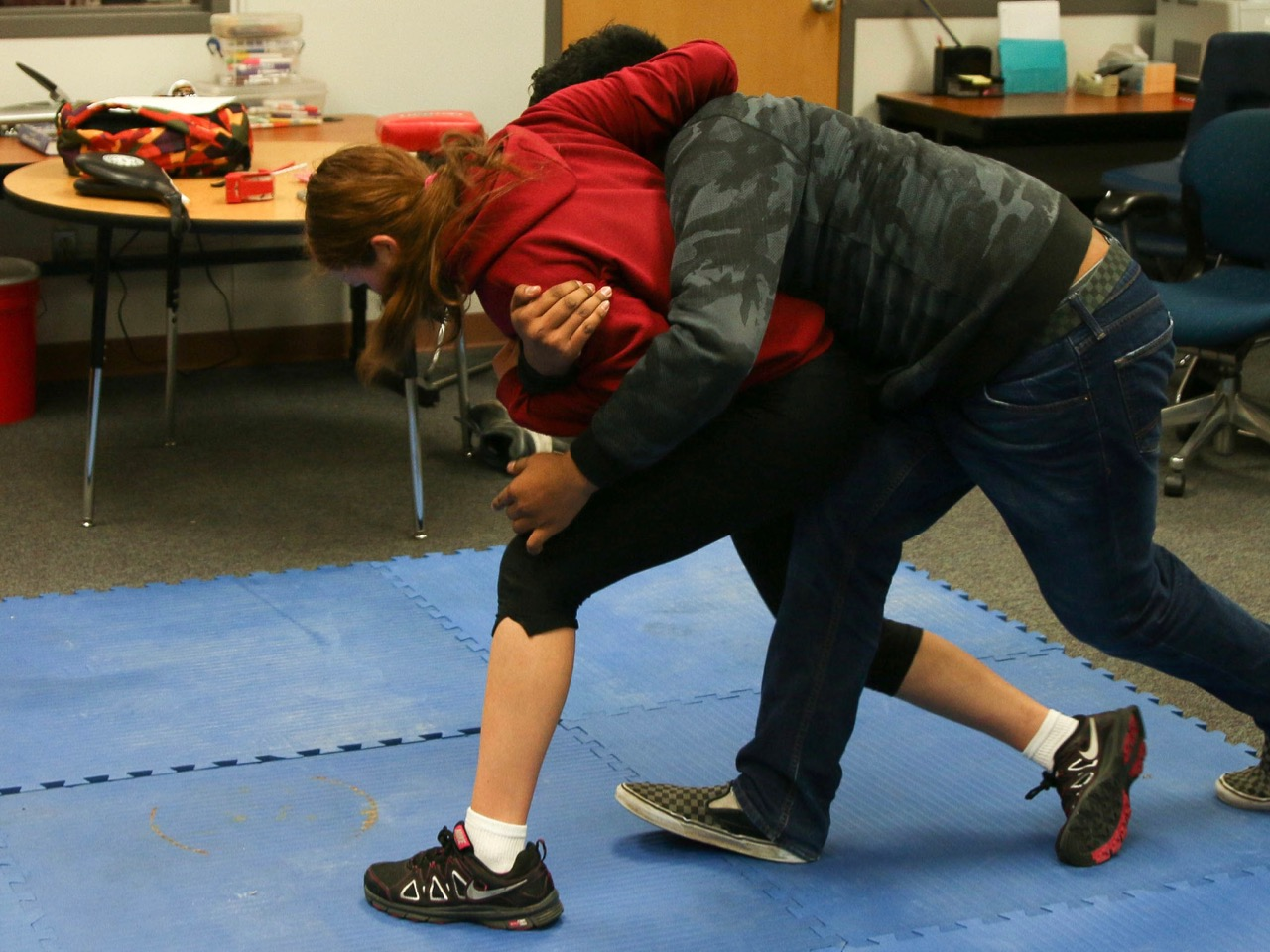 'It could be me': Native American teen teaches self-defense to keep indigenous kids safe