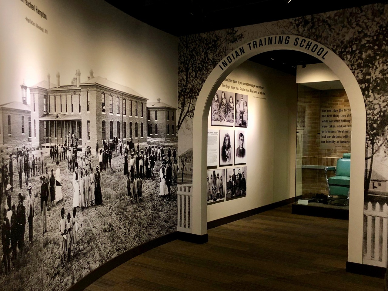 Technology revitalizes Native American boarding school exhibit at the Heard