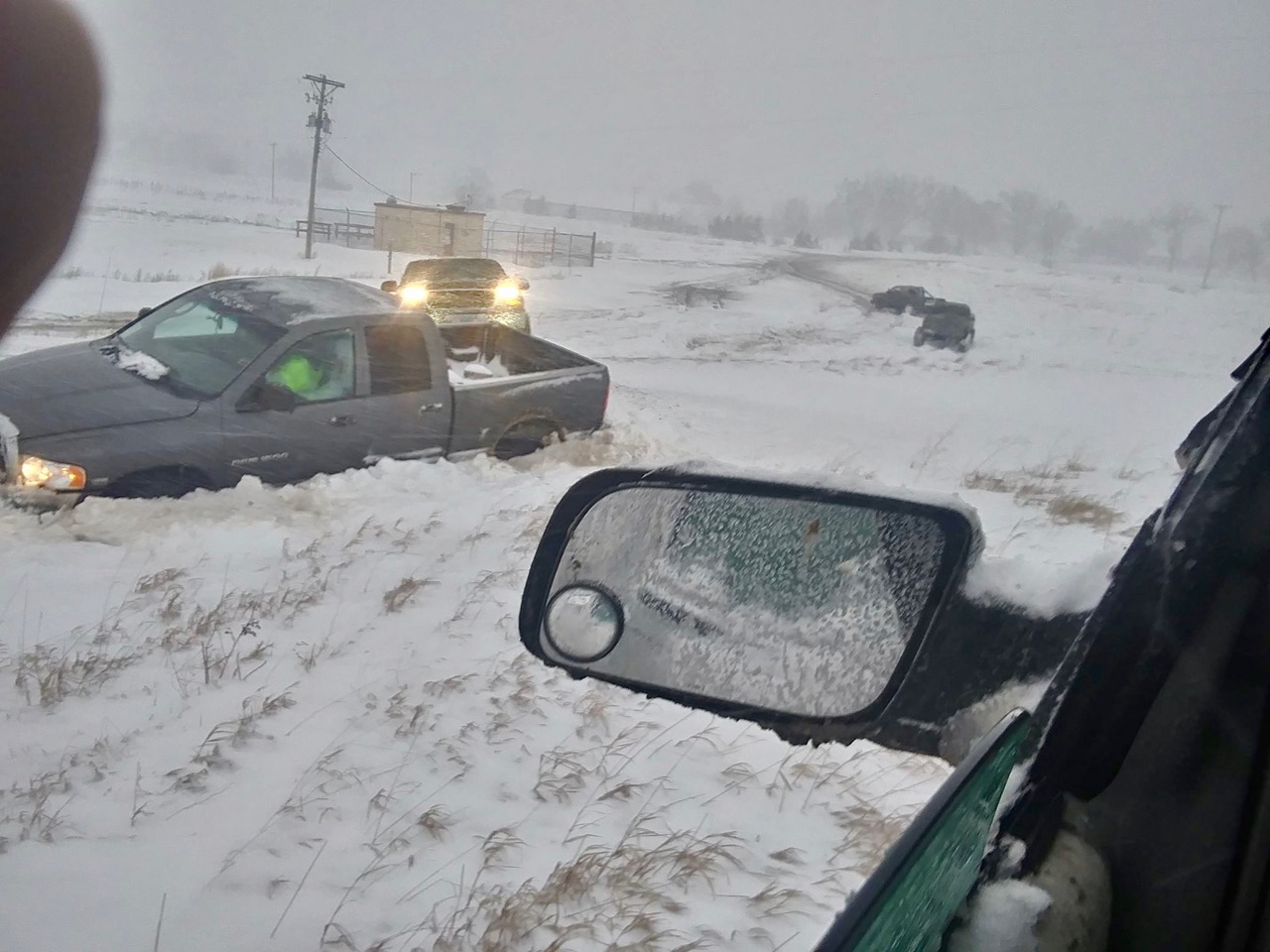 Oglala Sioux Tribe orders lockdown after winter storm slams the reservation
