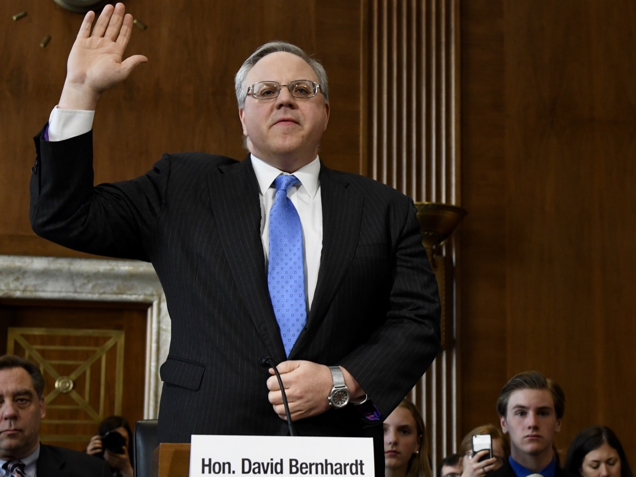 Trump nominee inches closer to top spot at Department of the Interior