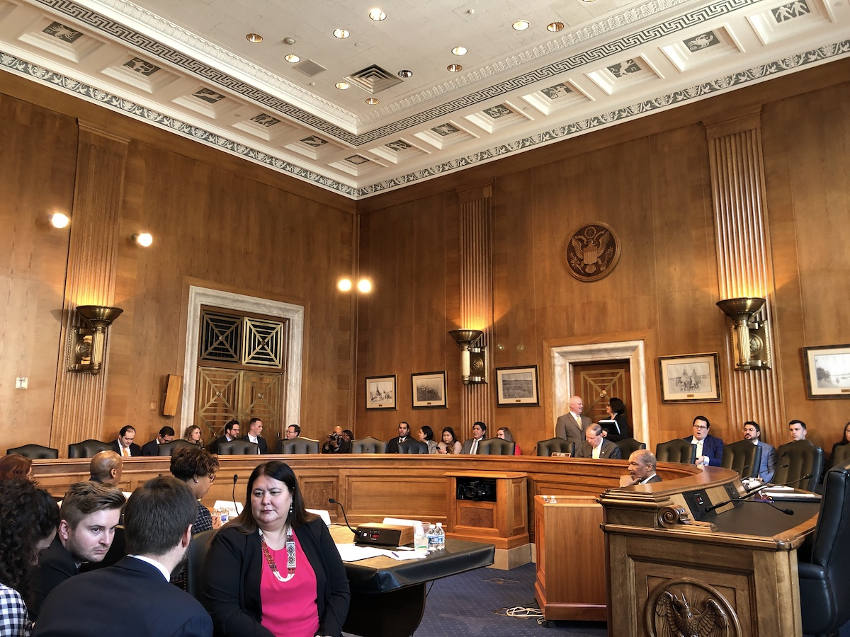 Twitter Recap: Senate Committee on Indian Affairs hearing with Trump administration