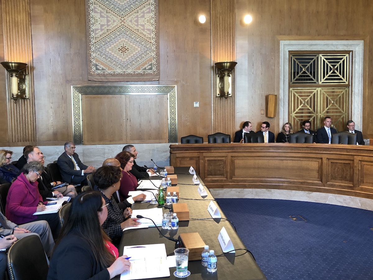 AUDIO: Senate Committee on Indian Affairs hearing on community development