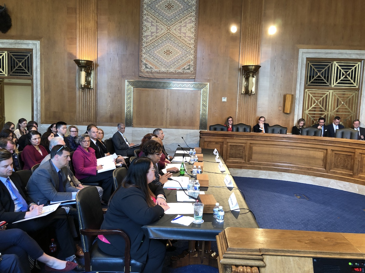 Indian Affairs hearing turns into Trump administration apology tour