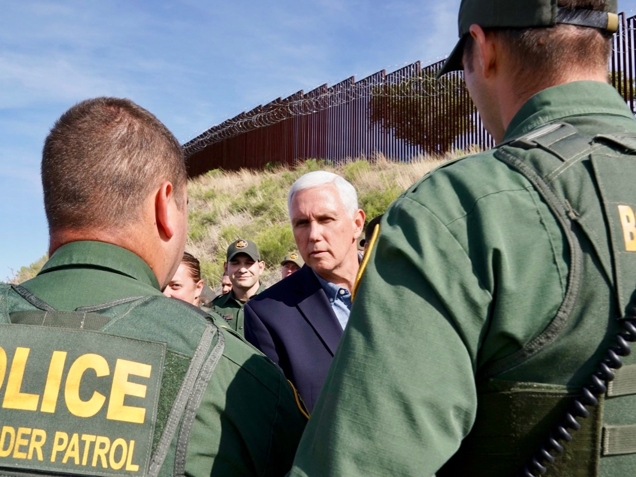 Cronkite News: Vice President Pence speaks of 'crisis' at U.S. border