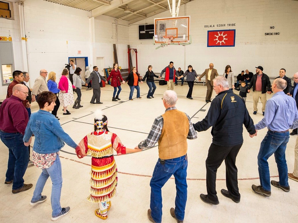 Oglala Sioux Tribe bans South Dakota governor from reservation