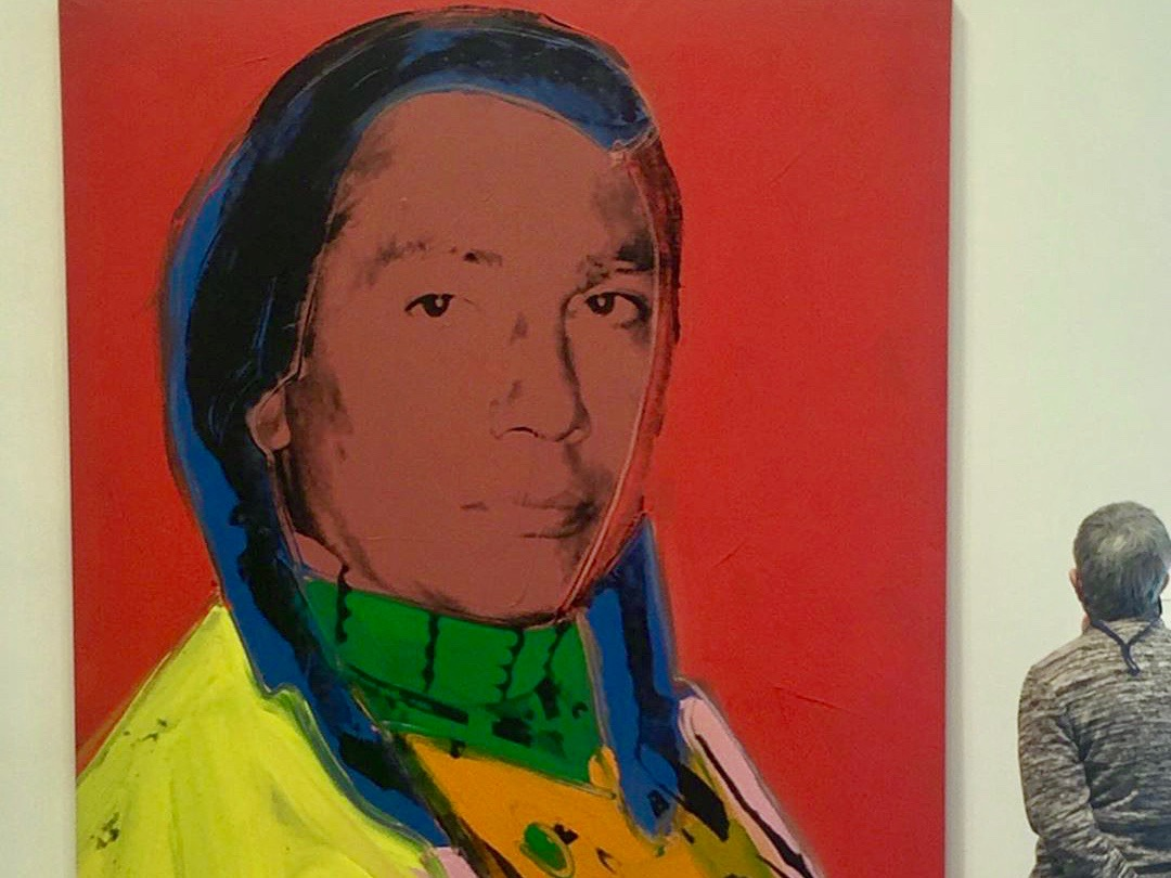Portrait of the late Russell Means fetches $6.3 million at auction