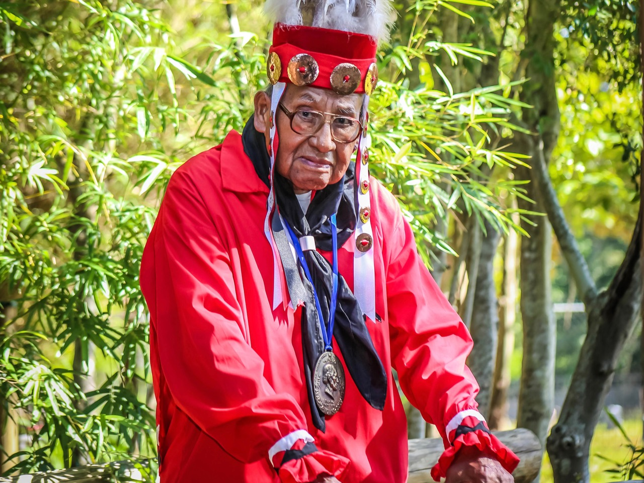 Alabama-Coushatta Tribe mourns passing of traditional chief Clem Sylestine