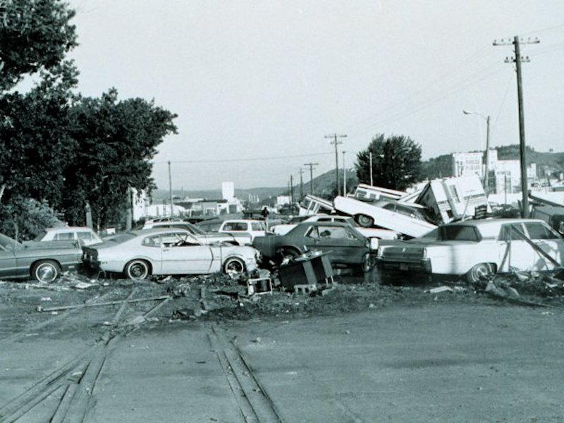 Native Sun News Today: The great Black Hills flood of 1972