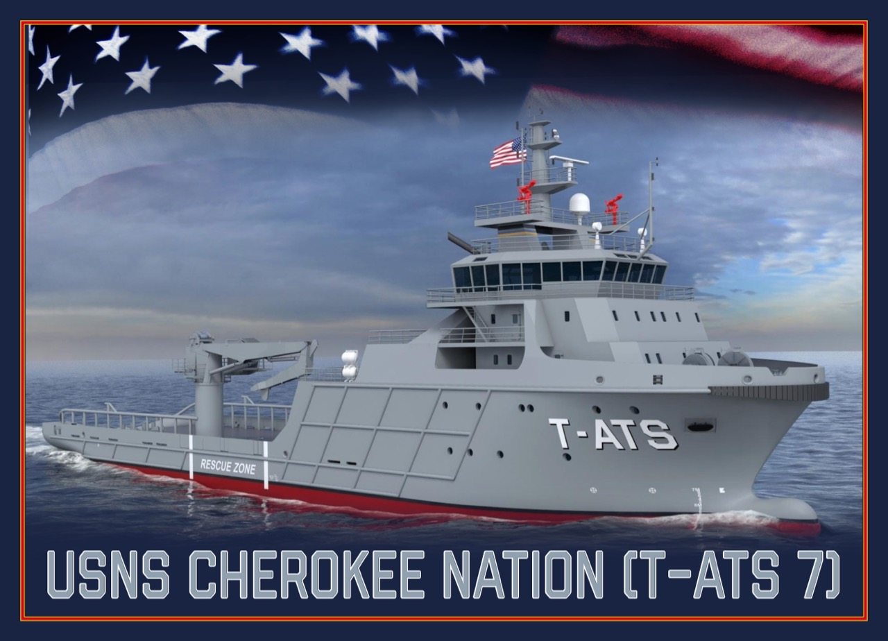 Bill John Baker: Cherokee Nation honored with name of new military ship