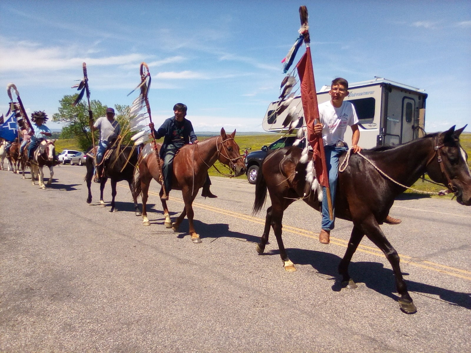 Native Sun News Today: Horse riders make annual return to Little Big Horn