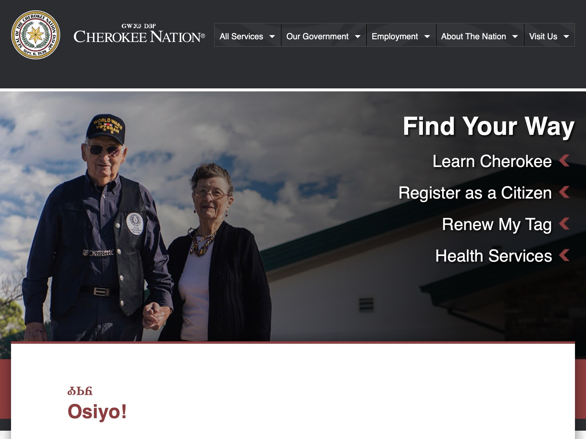 Bill John Baker: Cherokee Nation takes giant leap forward with website