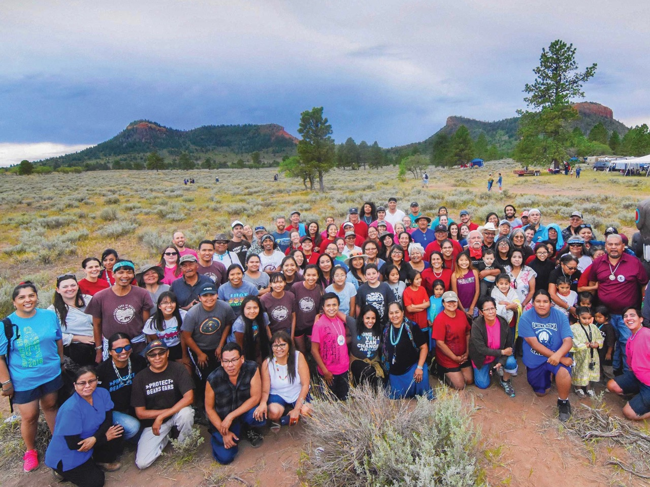 Tribes meet for annual summer gathering at Bears Ears National Monument