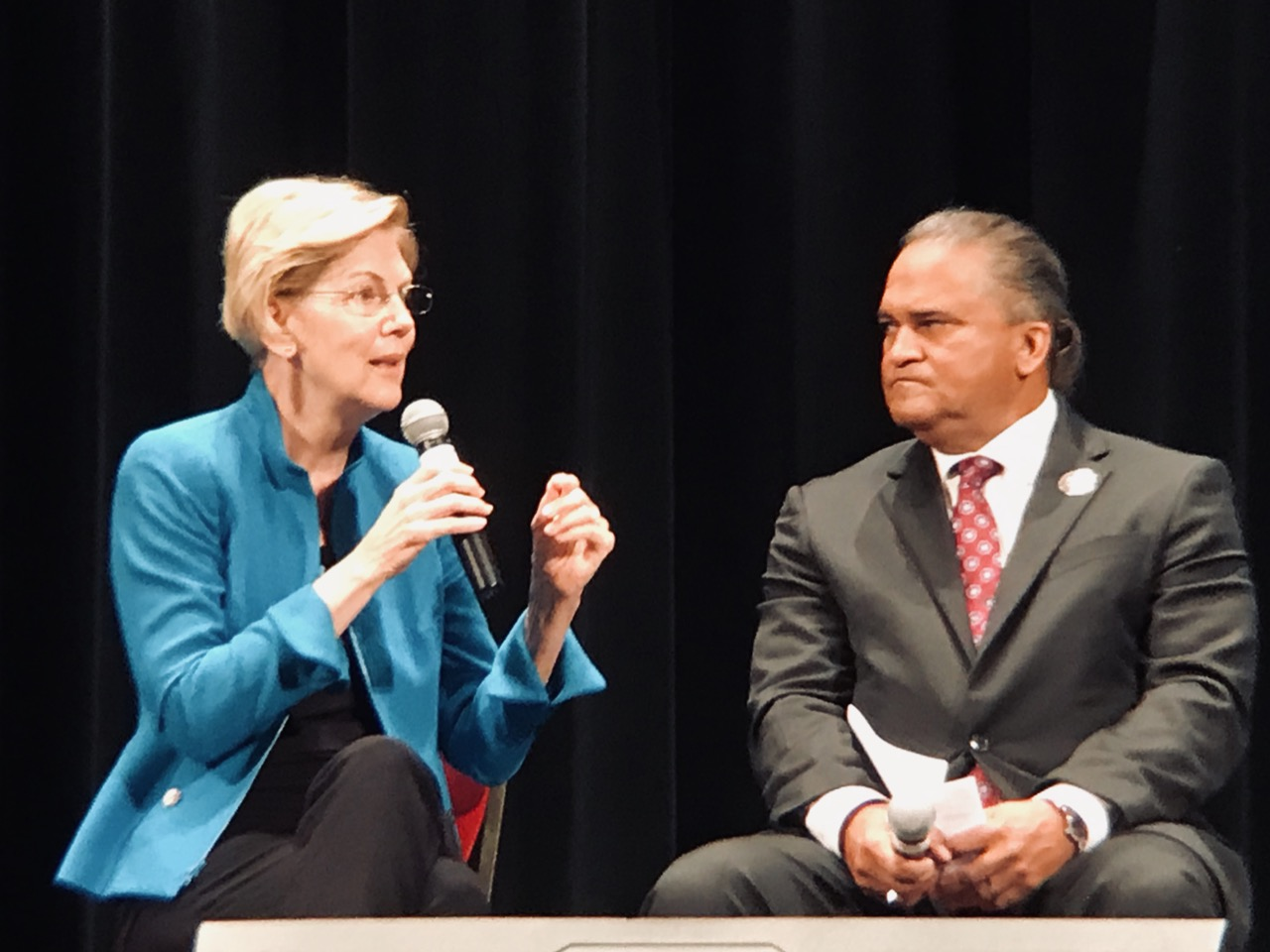 AUDIO/VIDEO: Elizabeth Warren at Frank LaMere Native American Presidential Forum