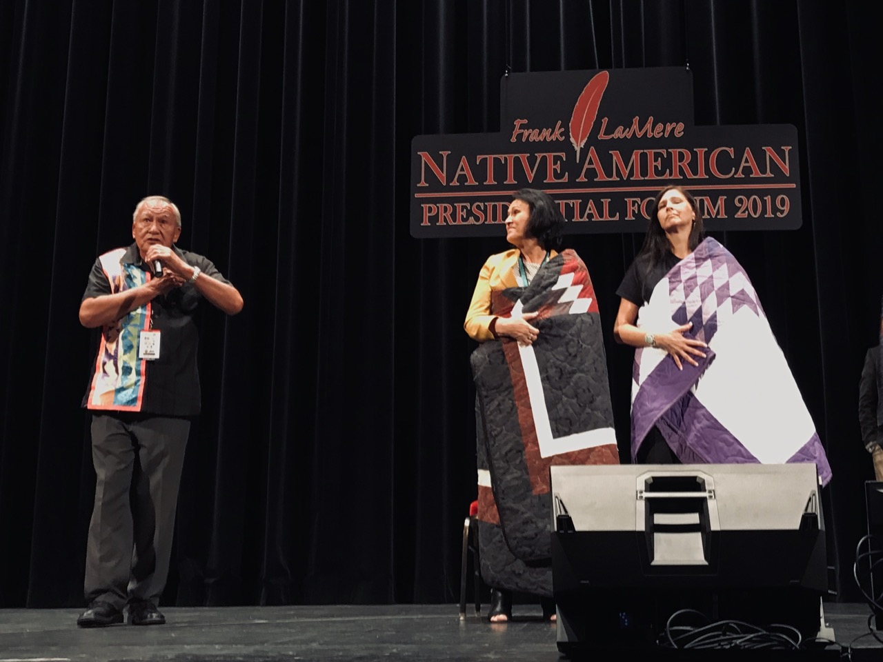 Presidential candidates focus on Native issues at historic forum