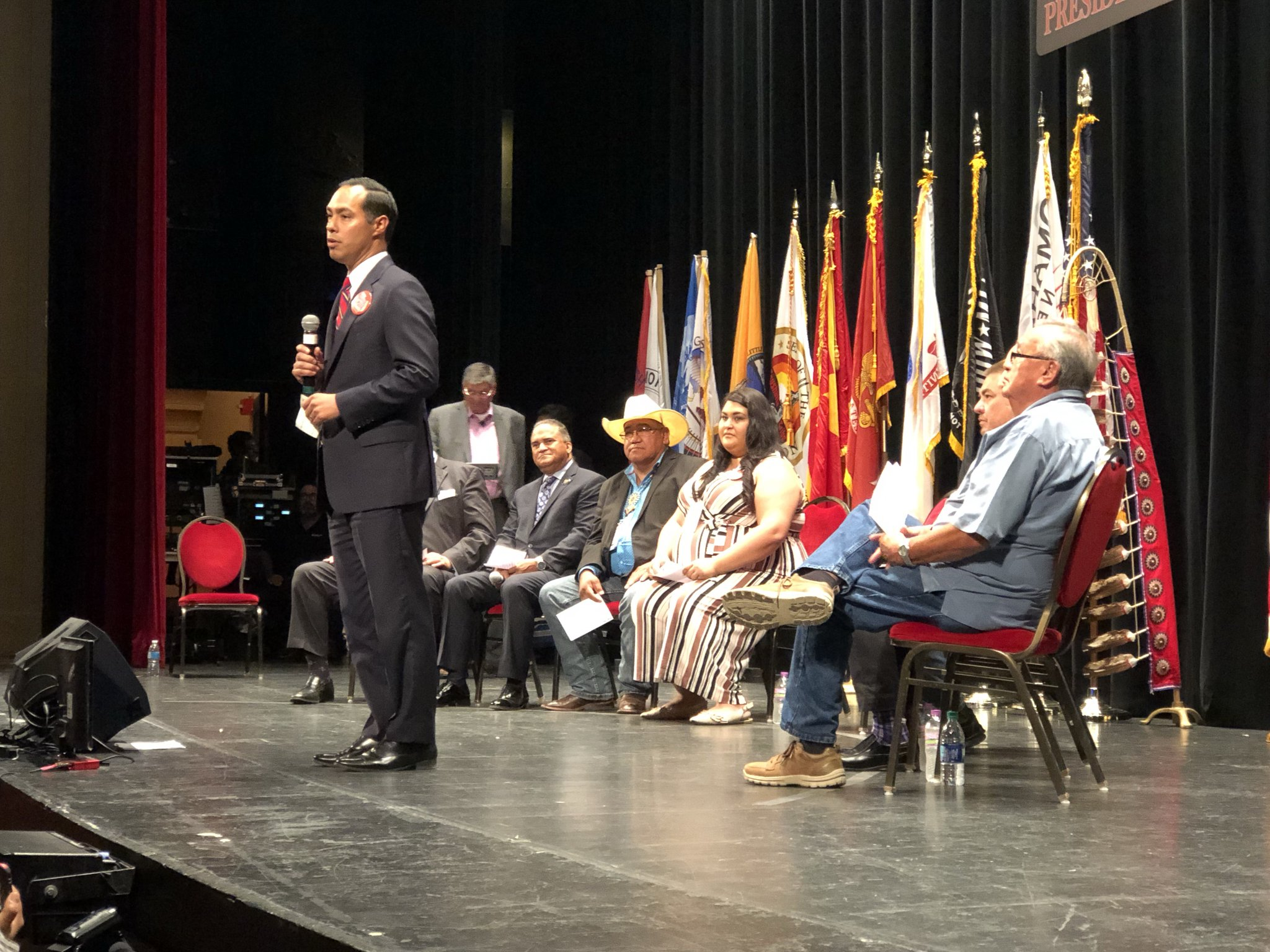 AUDIO/VIDEO: Julián Castro at Frank LaMere Native American Presidential Forum