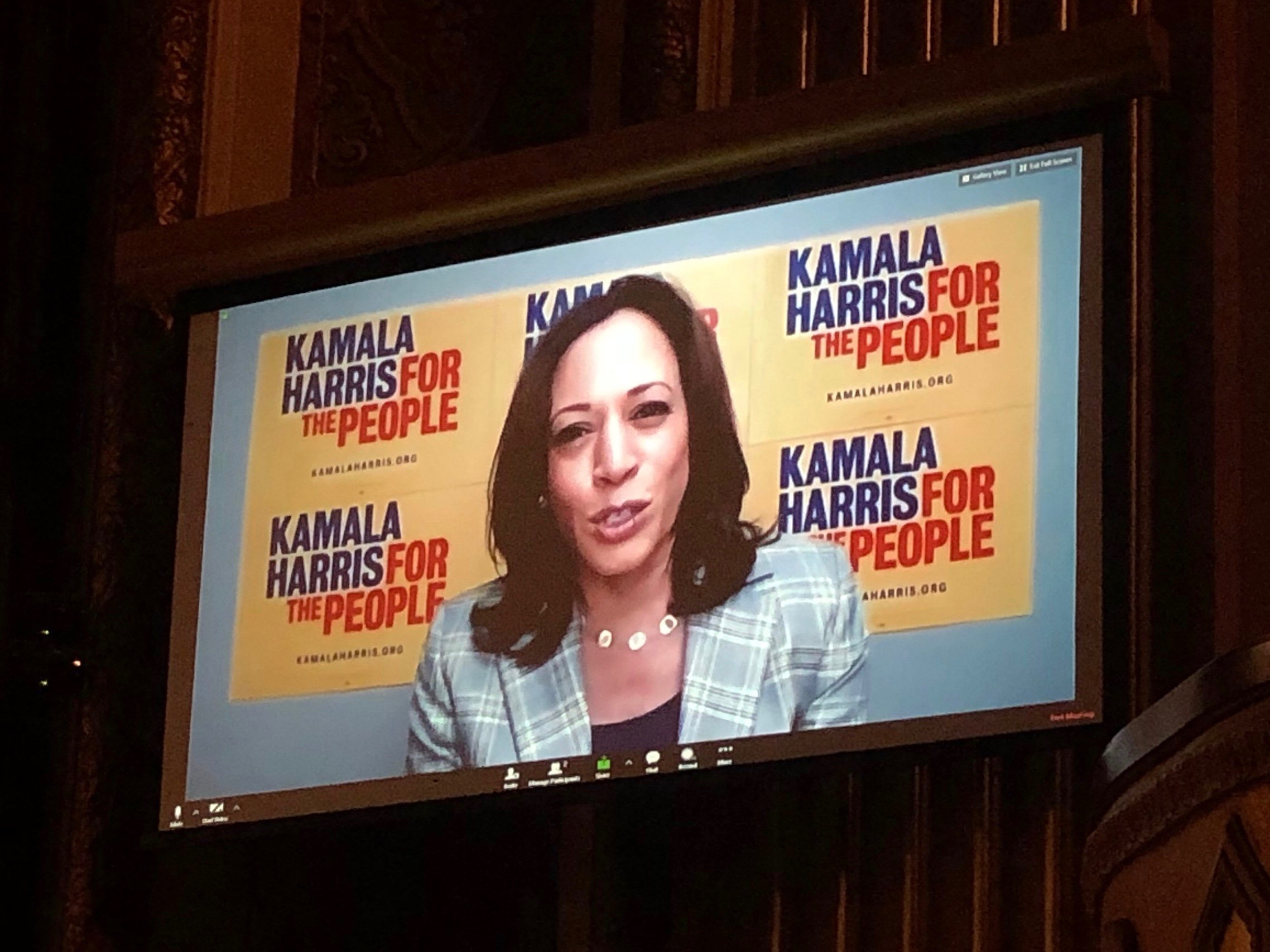 AUDIO/VIDEO: Kamala Harris at Frank LaMere Native American Presidential Forum