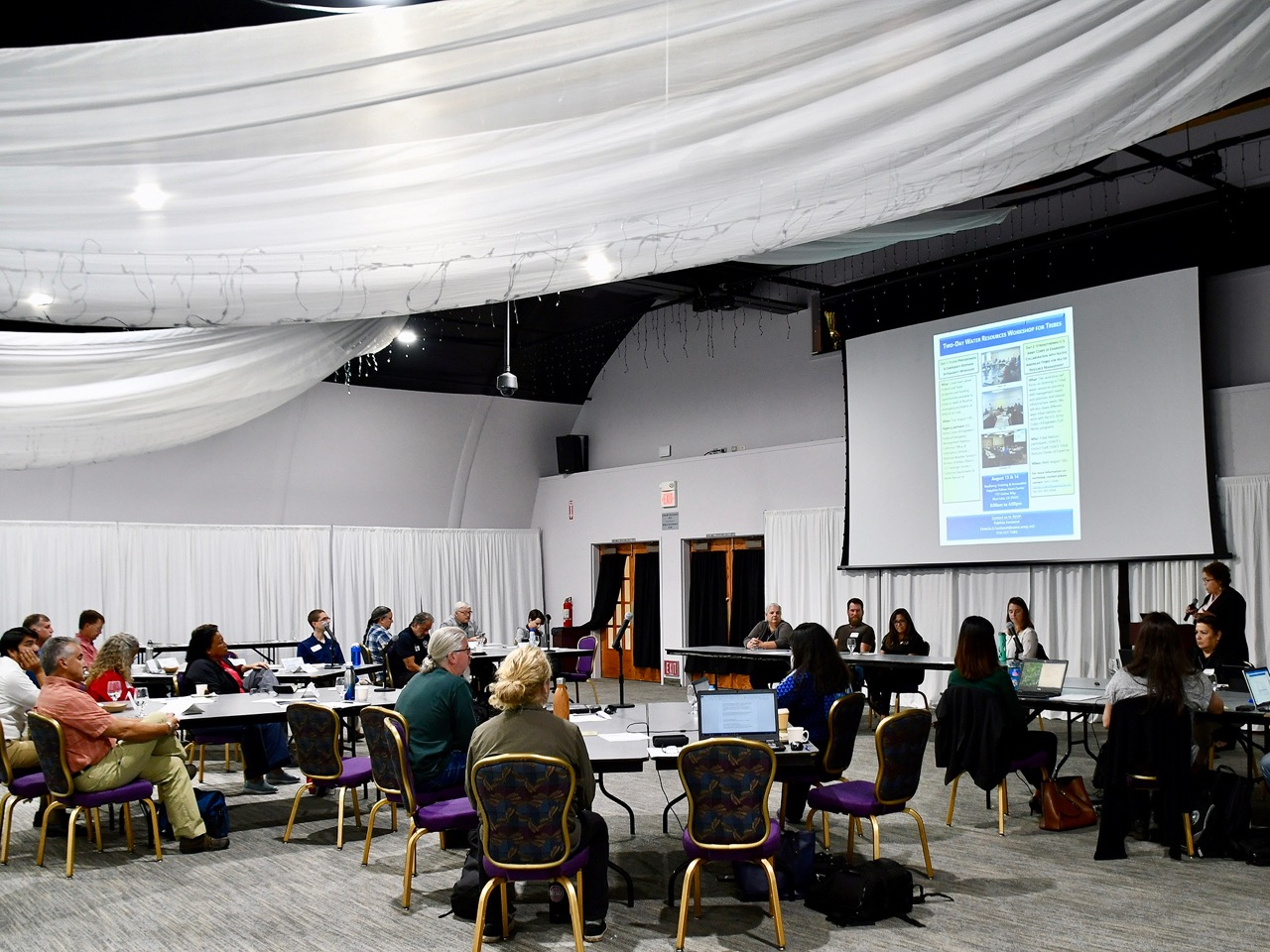 Workshop fosters communication between tribal, state, and federal agencies