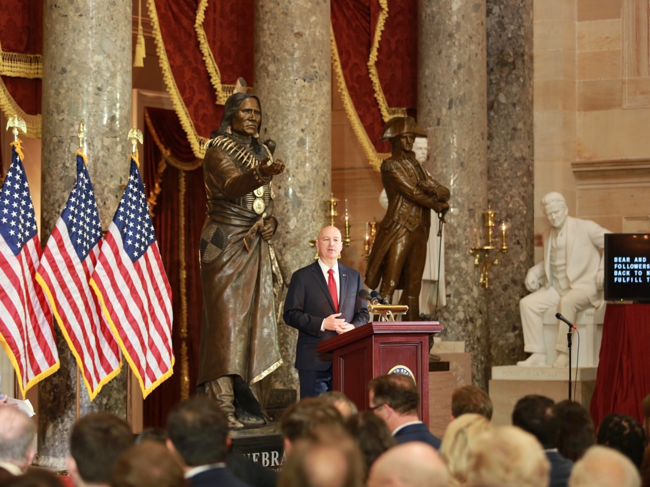 Gov. Pete Ricketts: Standing tall for justice in the US Capitol