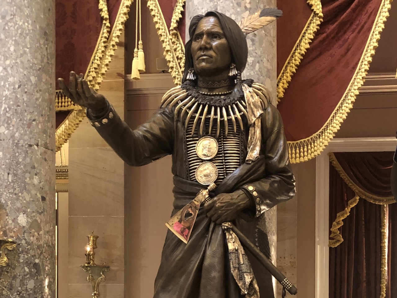 Ponca Chief Standing Bear completes one last journey of triumph