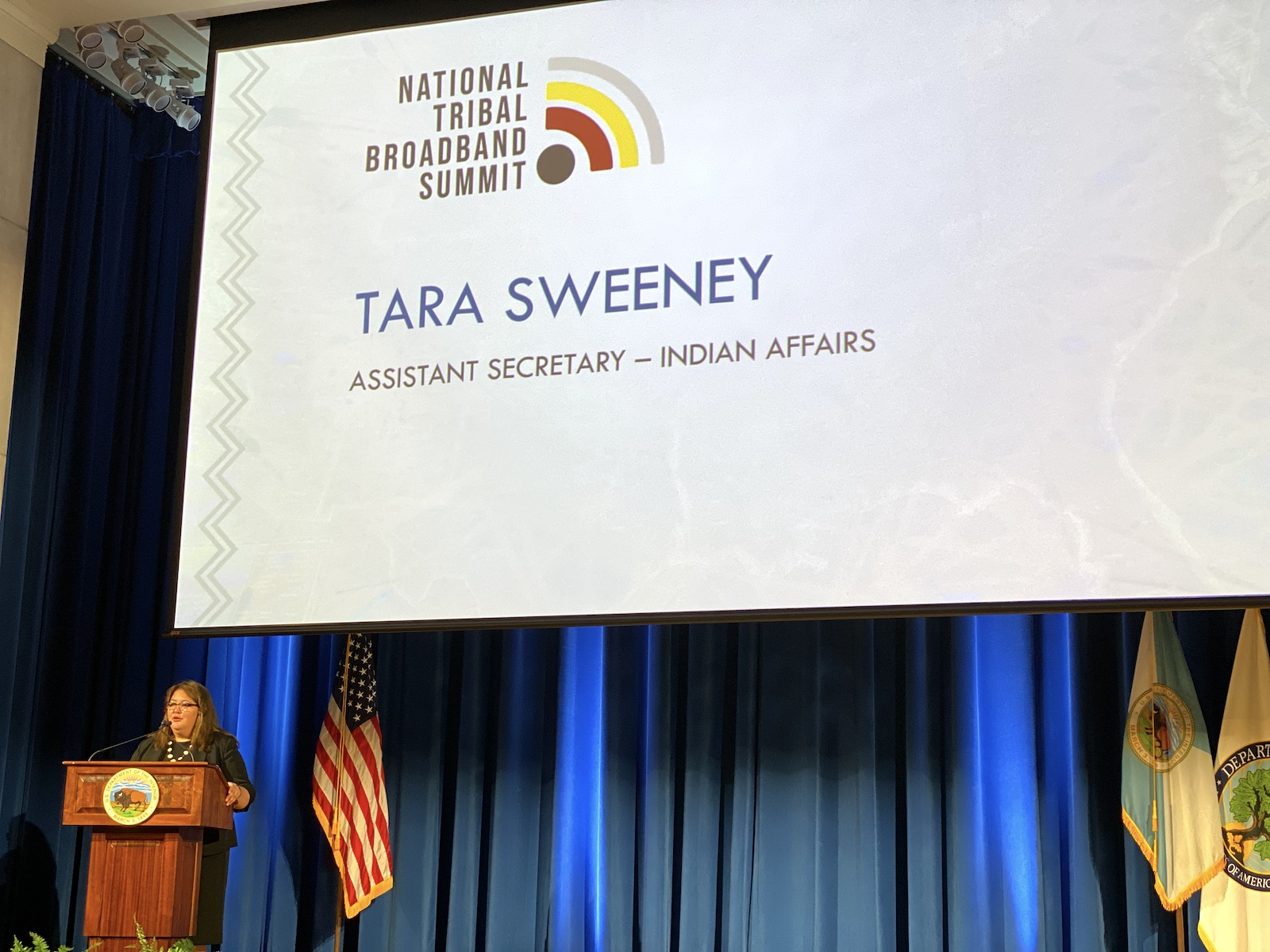 Trump administration goes on the record for Indian Country funding