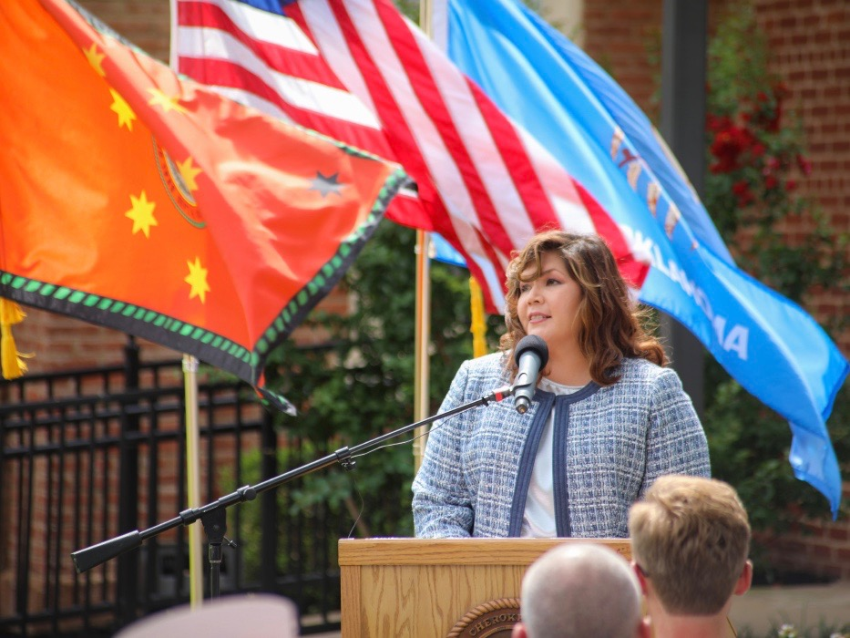 Cherokee Nation's historic delegate to Congress
