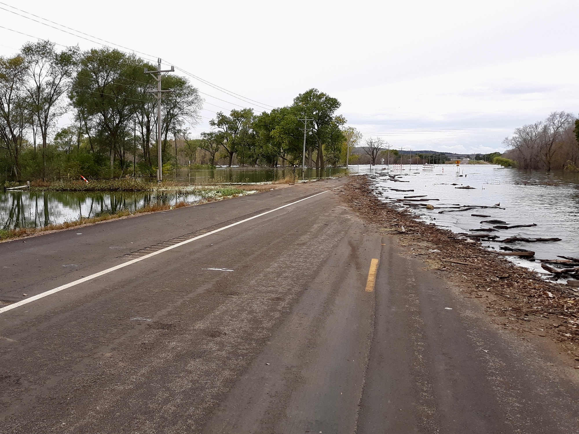 Yankton Sioux Tribe flooding and recovery