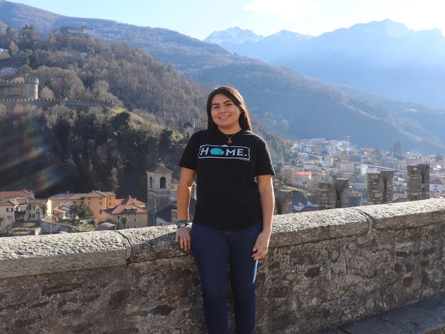 Nizhoni Tallas is first Hokie to receive Udall Scholarship in tribal policy
