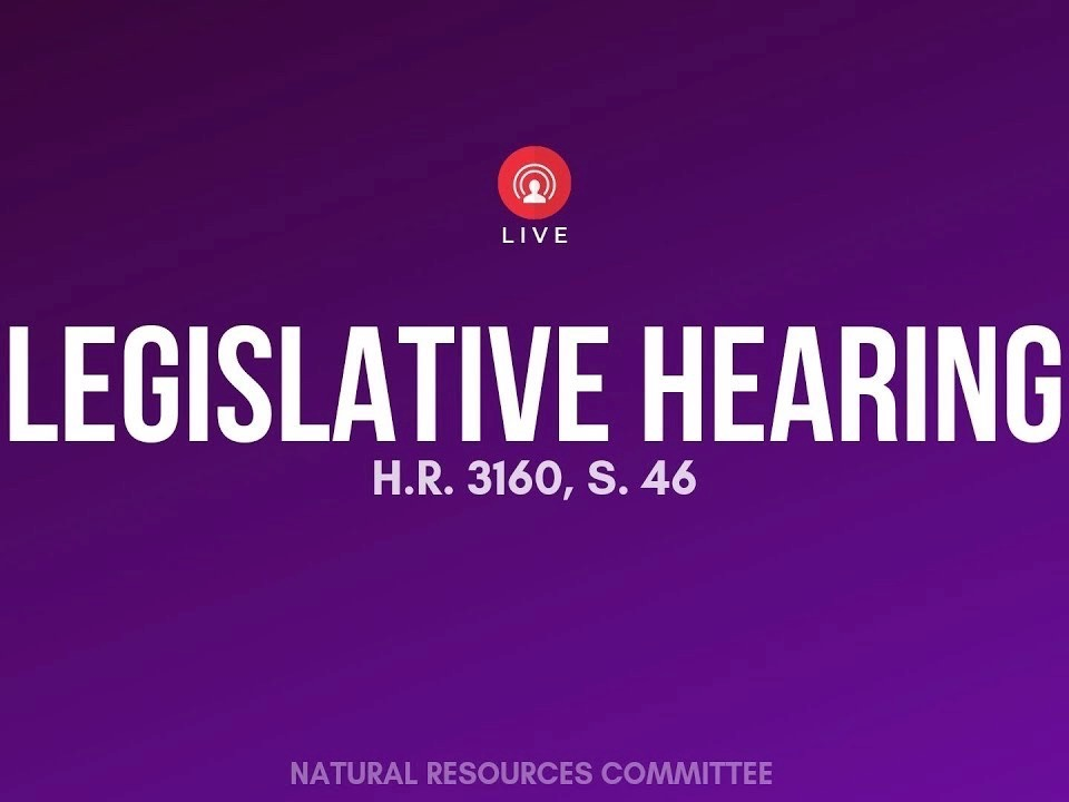 House Subcommittee for Indigenous Peoples takes up two bills at hearing