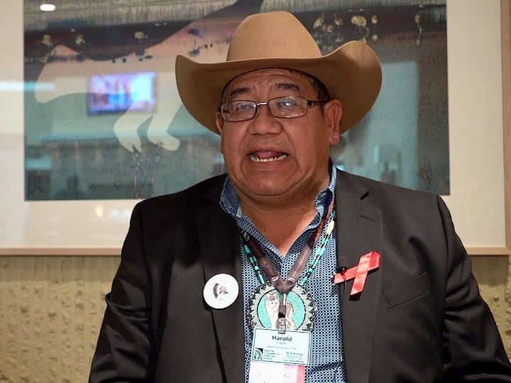 'Everybody has a right to speak for their people': Harold Frazier at #NCAIAnnual19