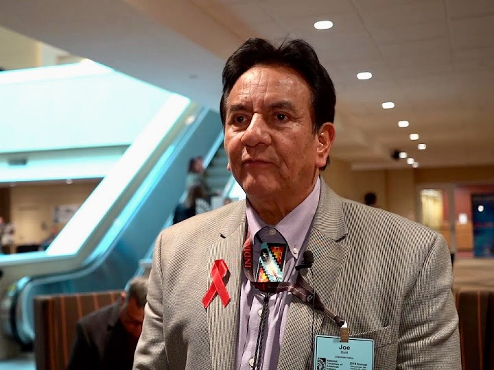 'We like to share with other tribes': Joe Byrd at #NCAIAnnual19
