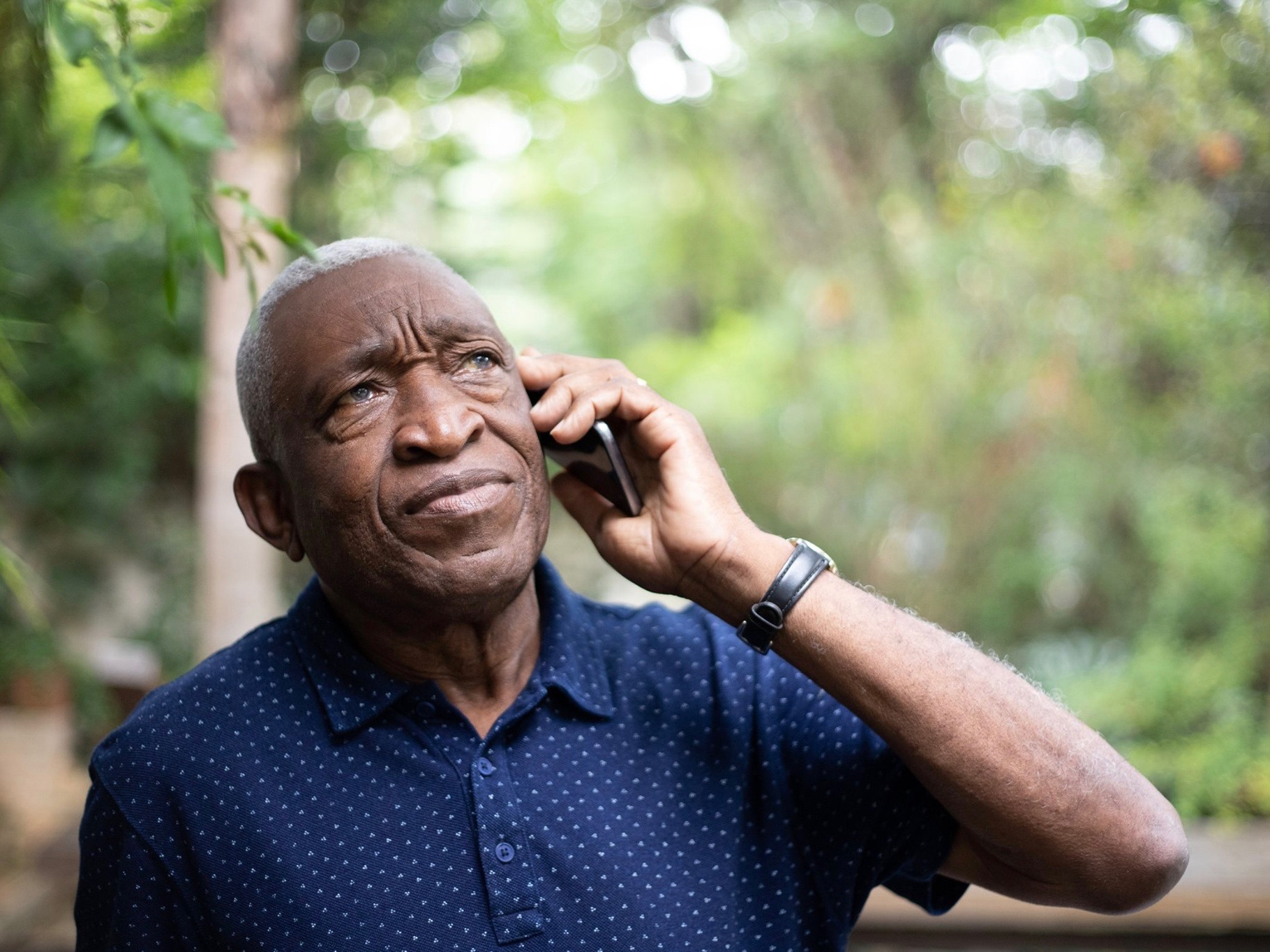 Elderly telephone scammers -- a big menace