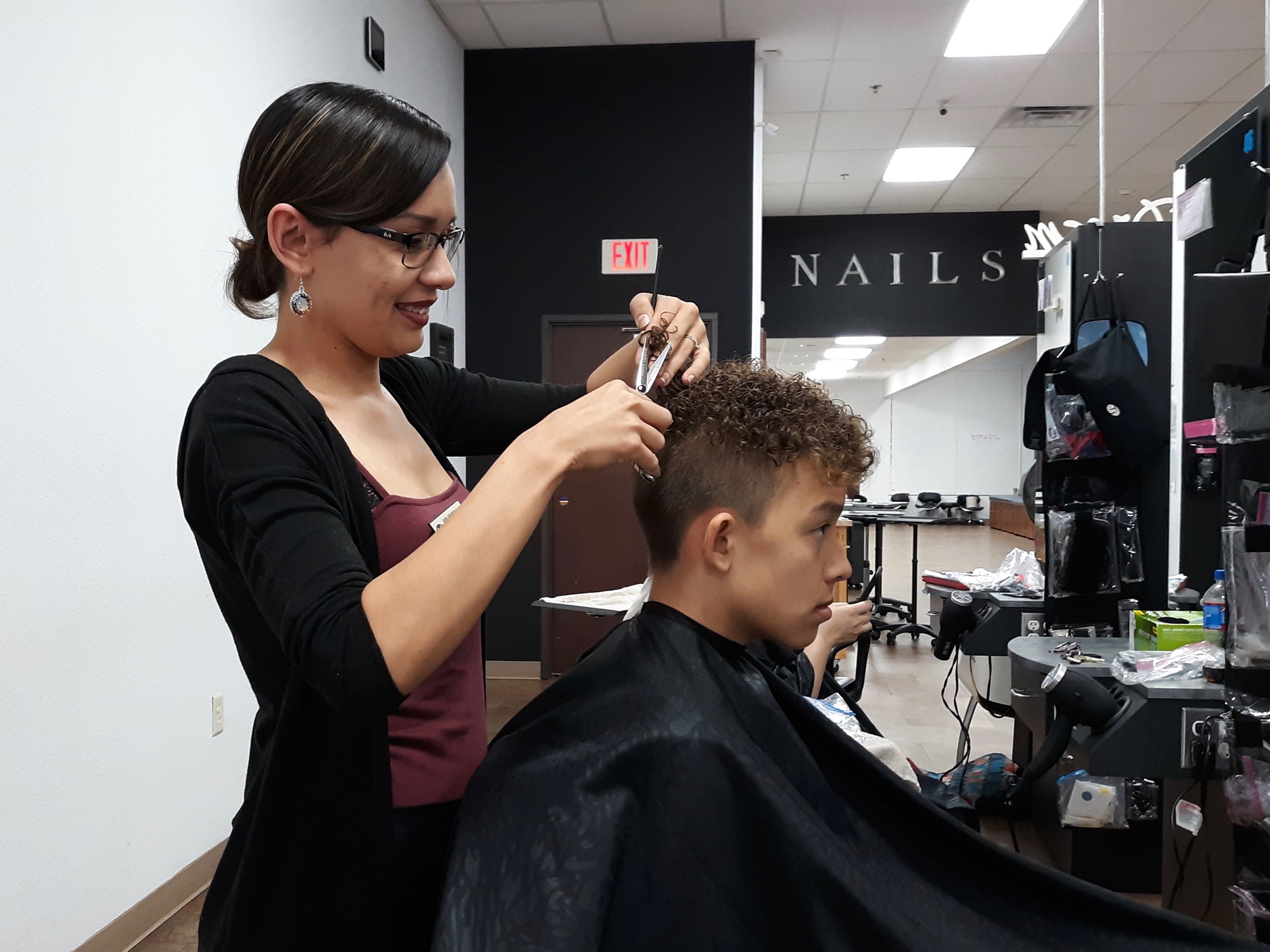 Cosmetology student makes the most of opportunity