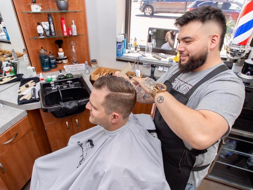 Dom Clucas: barbershop success story