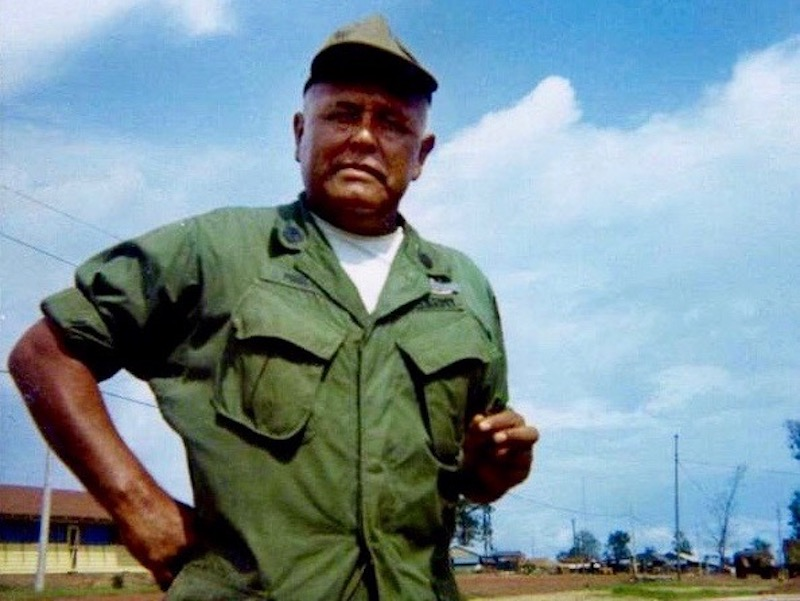 Kiowa citizen Pascal Cleatus Poolaw considered most decorated Indian soldier