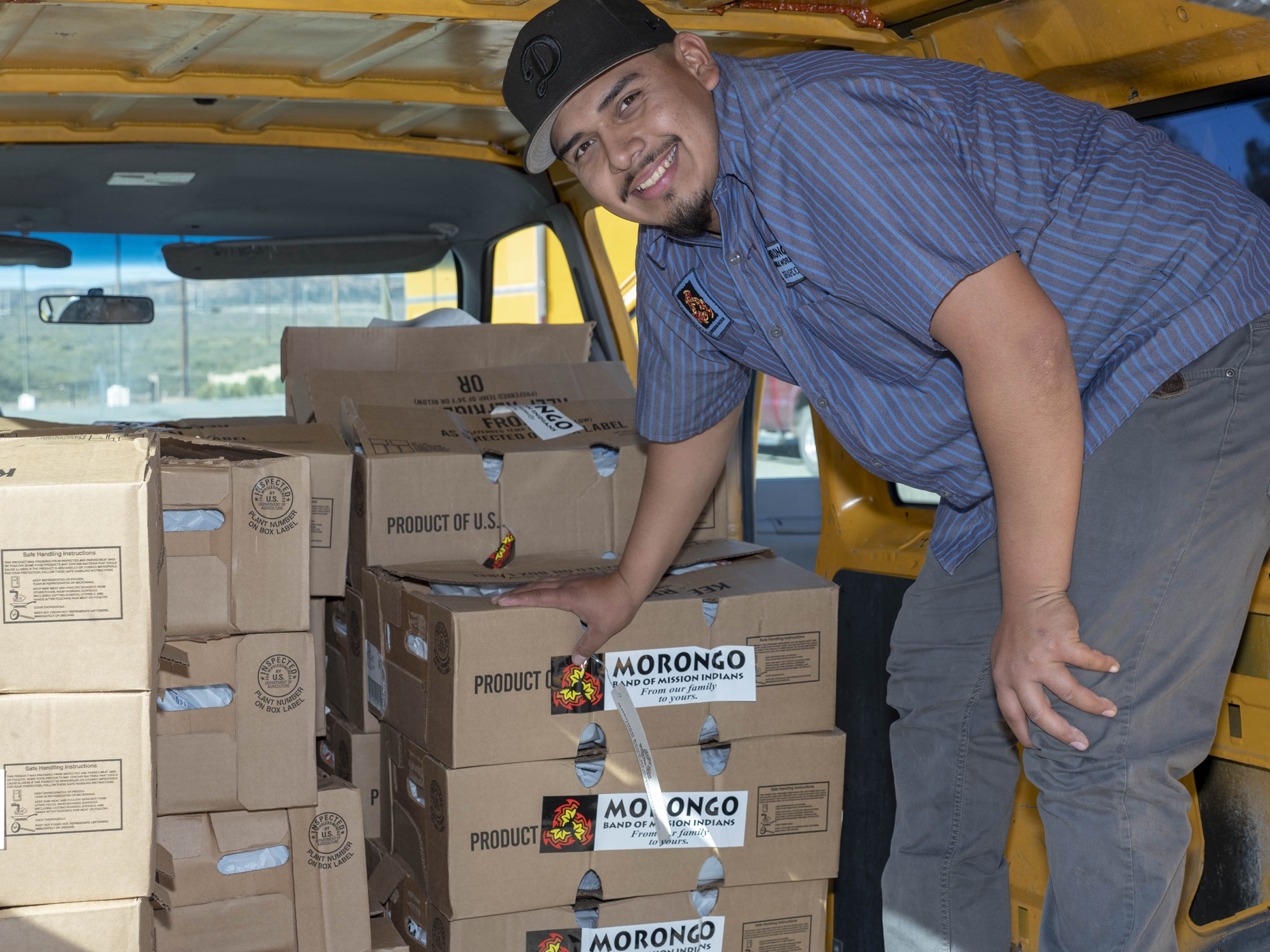 Morongo Band donates a record 12,500 turkeys for annual outreach program