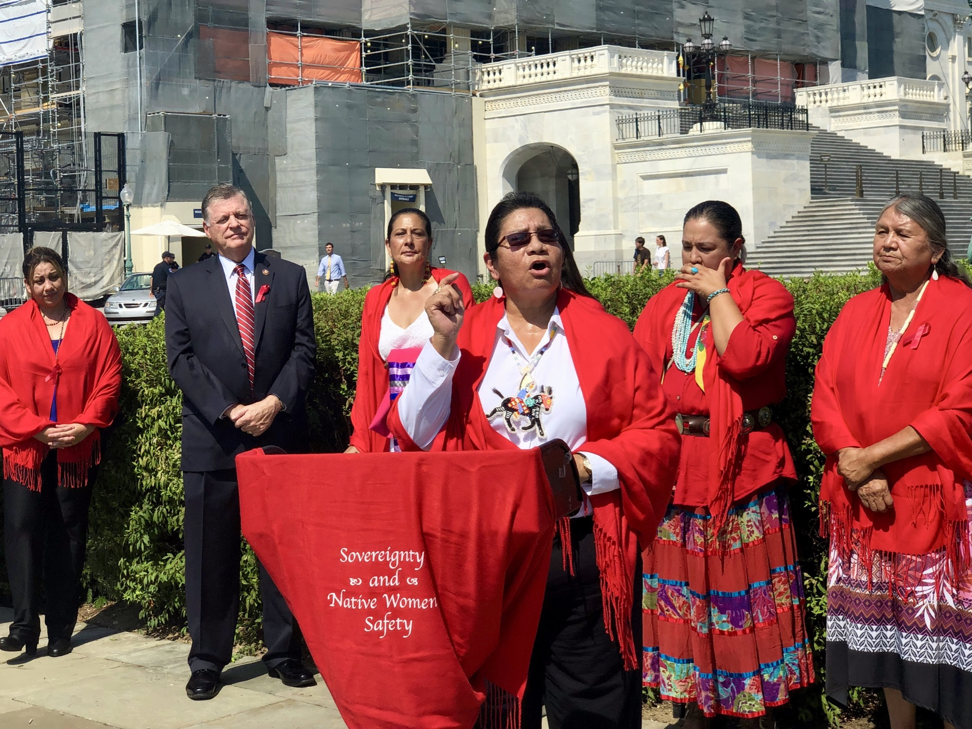 'Nobody deserves this kind of treatment': Native women speak out against Oglala Sioux leader