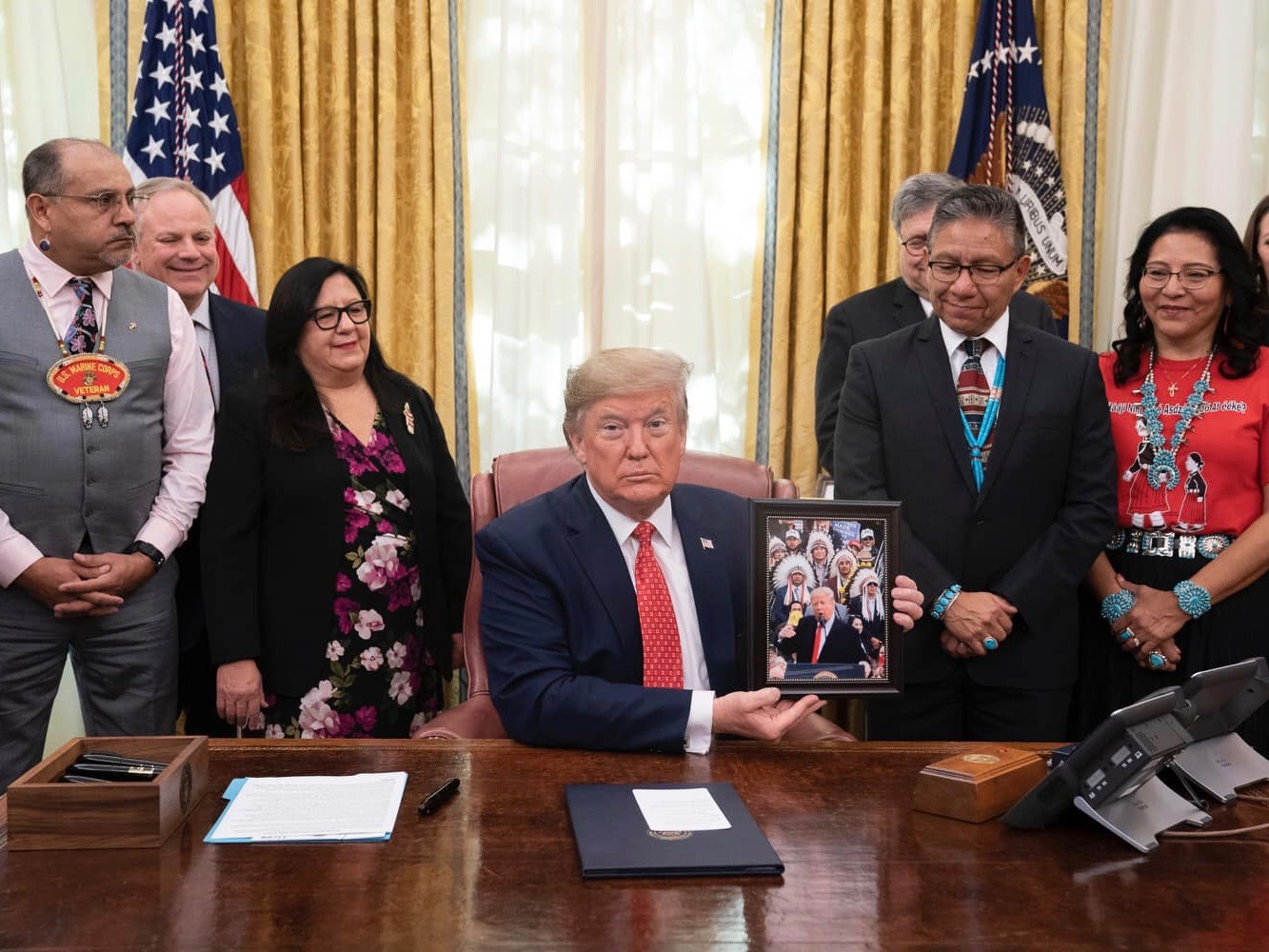 Tribal leaders share statements about White House signing ceremony