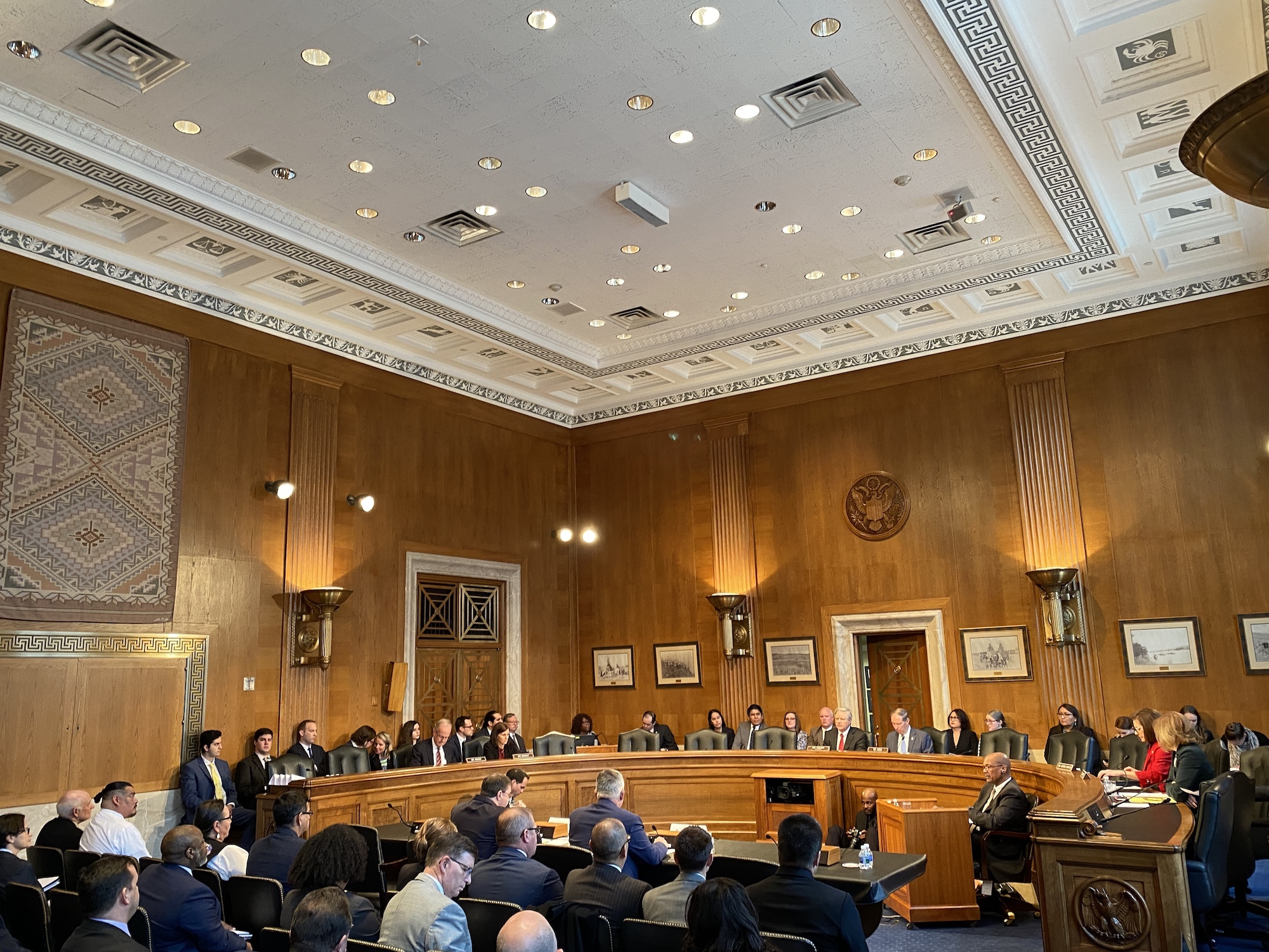 Senate Committee on Indian Affairs hosts business meeting and confirmation hearing